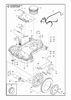 Husqvarna Mower Motor also T20869218 Am needing diagram replace mower deck likewise Belt Diagram For John Deere 42in Deck Mower also T24882563 Replace drive belt la145 as well John Deere Transmission. on drive belt diagram for john deere lt133